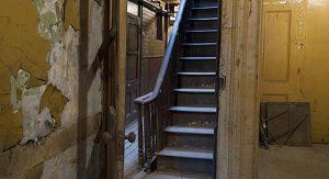 97 Orchard interior stairs, from http://www.tenement.org/about.html