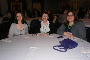 Meredith, me, and RKD at the Awards Dinner