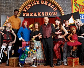 "Cast of ""Freakshow"" on AMC"