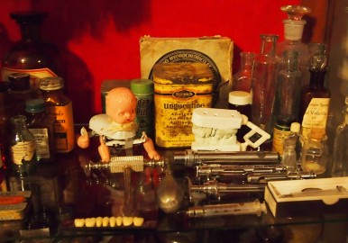 A portion of the cabinet at my home