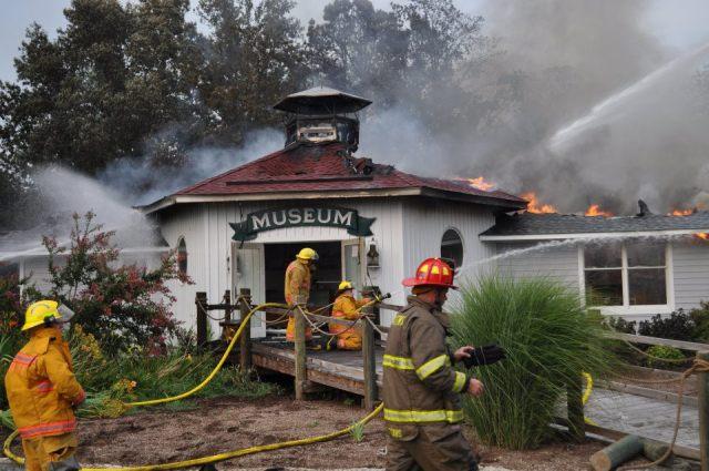 Fire! Smoke damage! Water damage, oh MY!