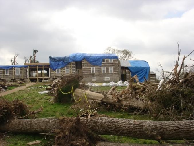 Wynnewood in Castilian Springs, TN after tornado damage