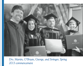 Check out these fancy PhD grads from the newsletter
