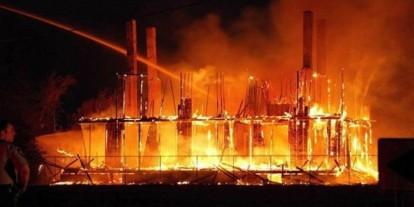 Conflagration of Lebeau Plantation