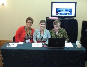 TLC Presentation in Savannah with my Academic Lady Friends