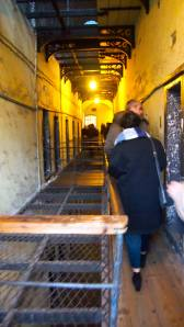 Cells along the older section of the gaol.