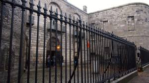 Our entrance into Kilmainham Gaol