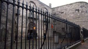Our entrance into Kilmainham Gaol