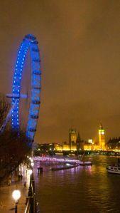So long, London!