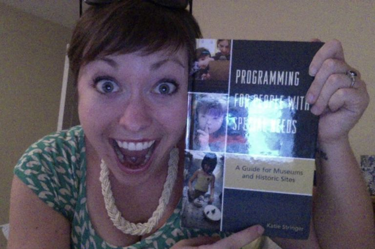 That's my name! On the front of my book!