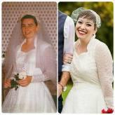 Grandma Edith and me, rocking the same dress, 60 years apart