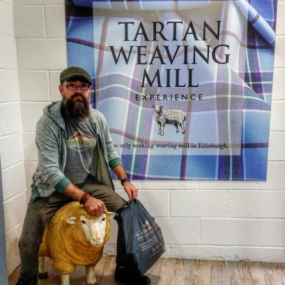 At the Weaving Mill