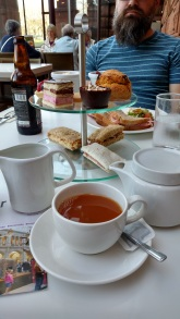 Tea at the Kelvingrove.